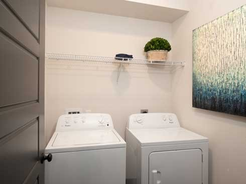 23West Full size washer and dryer