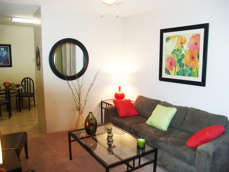 Addison Lane Apartments Living Area