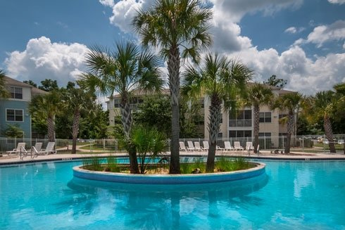 Cabana Beach Apartments In Gainesville South Beach Style