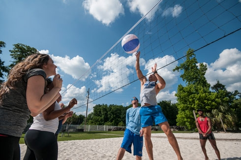 Cabana Beach Apartments Volleyball