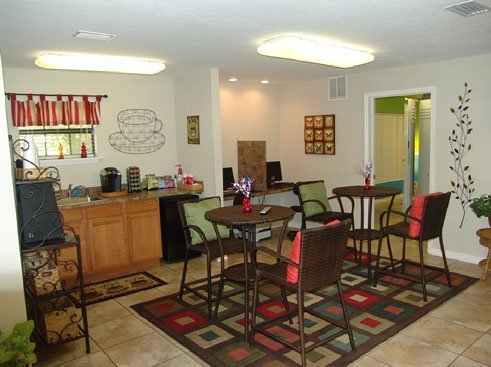 Courtney Greens Apartments Clubhouse Cyber Cafe
