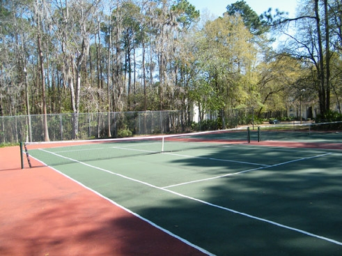 Creekwood  Tennis Court