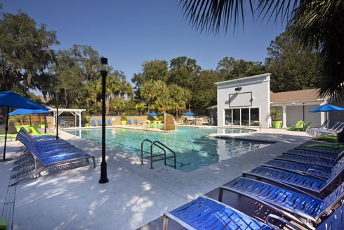 Gainesville Place Apartments Pool image 7