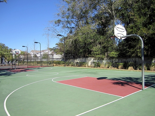 Gainesville Place Apartments Basketball Court