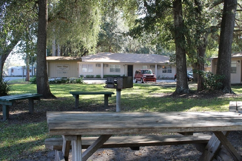 Gator Village Apartments Picnic Area