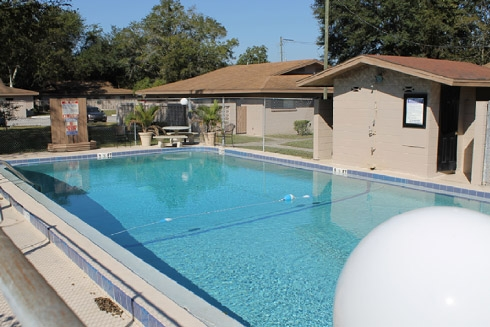 Gator Village Apartments Swimming Pool