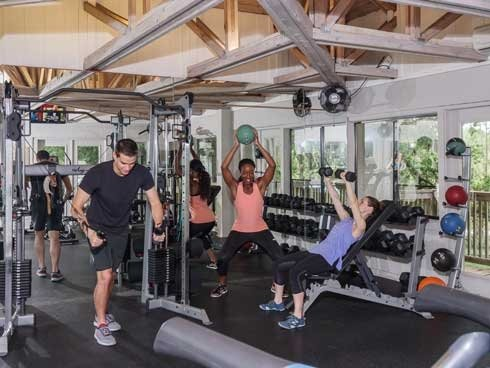 Lakewood Villas  Lakewood Villas fitness center