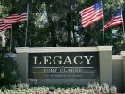 Legacy at Fort Clarke Apartments Entrance Sign