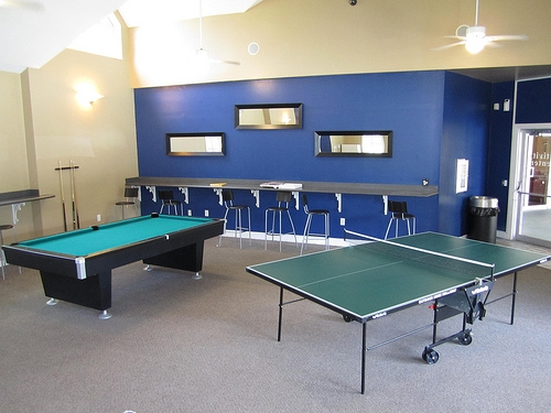 Lexington Crossing Apartments Game Room