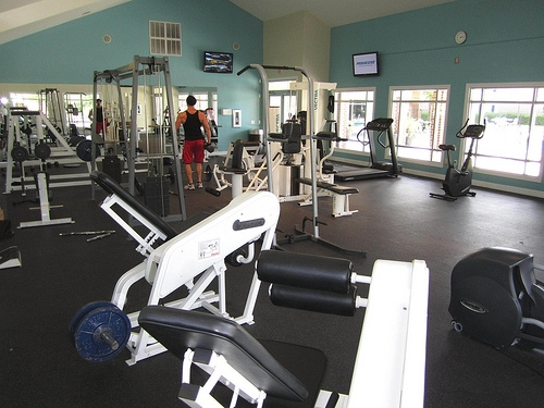 Lexington Crossing Apartments Fitness Center