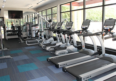 LUX13 Apartments Fitness Center
