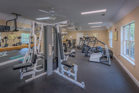 Paddock Club Apartments Fitness Center