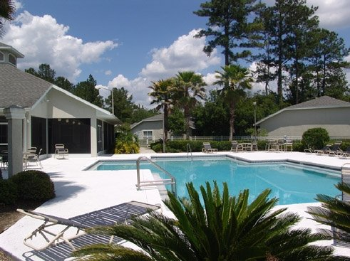 Pinewood Terrace Apartments Pool and Clubhouse