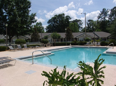 Pinewood Terrace  Pool