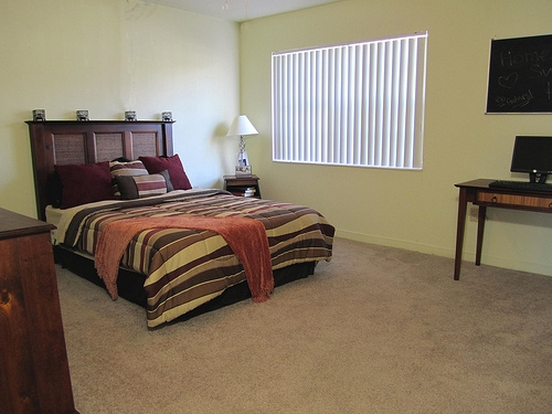 Spanish Trace Apartments Bedroom