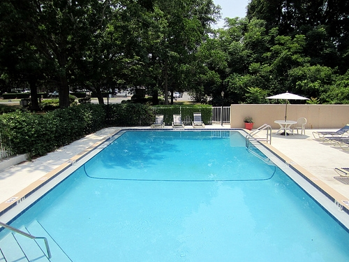 Spanish Trace Apartments Pool