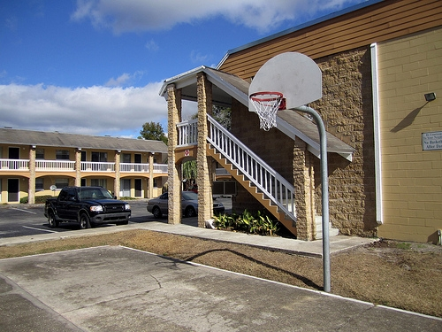 Spanish Trace Apartments Basketball Court
