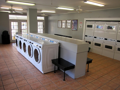 Spanish Trace Apartments Laundry Facilities