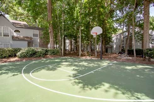 Spyglass Basketball Court