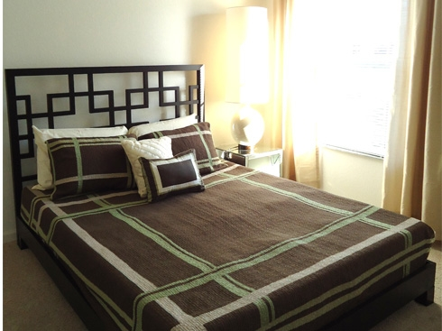 The Enclave Apartments Bedroom