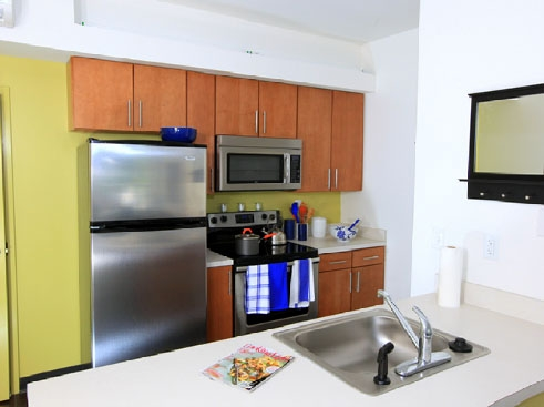 The Continuum Apartments  Kitchen