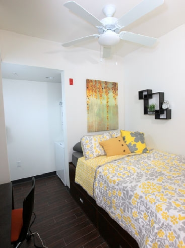 The Continuum Apartments Bedroom 2