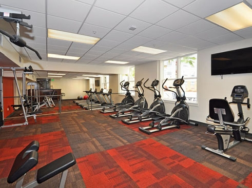 The Continuum Apartments Fitness Center