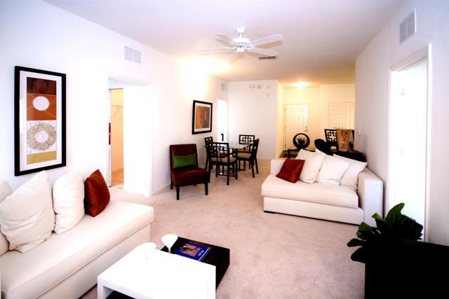 The Enclave Apartments Living Area 2