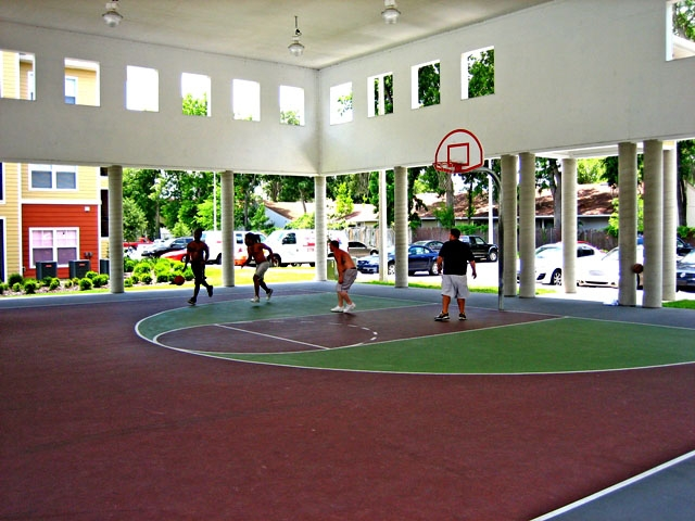 The Enclave Apartments Basketball Court