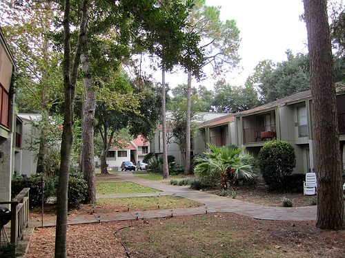 The Gardens Apartments Grounds