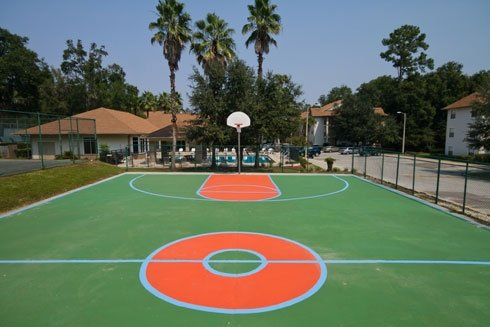 Tivoli Apartments Basketball Court