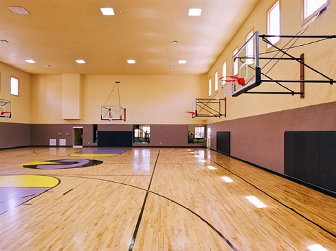 Uptown village townsend apartments in gainesville for How much would an indoor basketball court cost