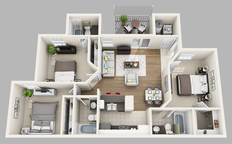 Perfect View Floor Plans Amazing Design