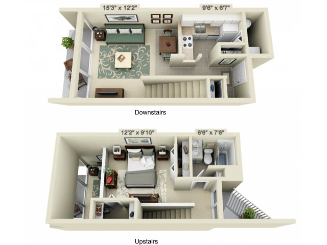 Elegant View Floor Plans
