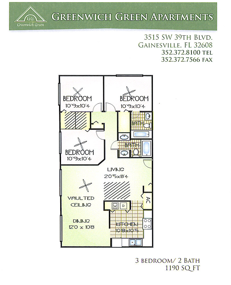 Greenwich Green Apartments In Gainesville FL
